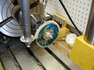 cutting a gear
